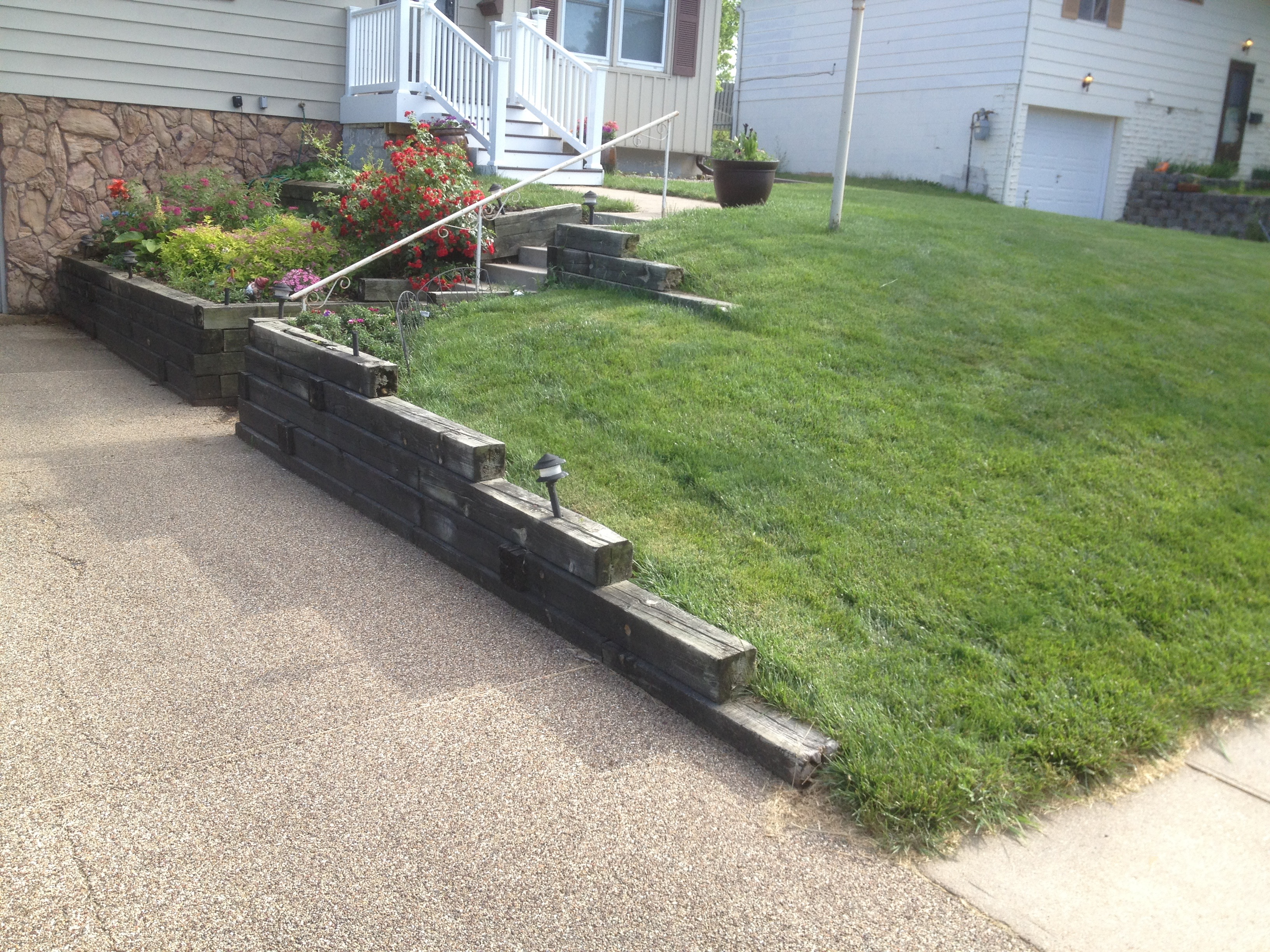 Bacchi Retaining Wall Tear Out & Redo Storm Irrigation Omaha NE