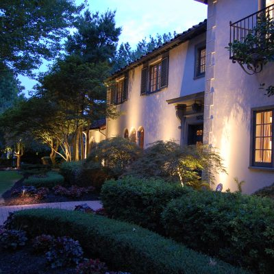Custom Landscape Lighting in Omaha